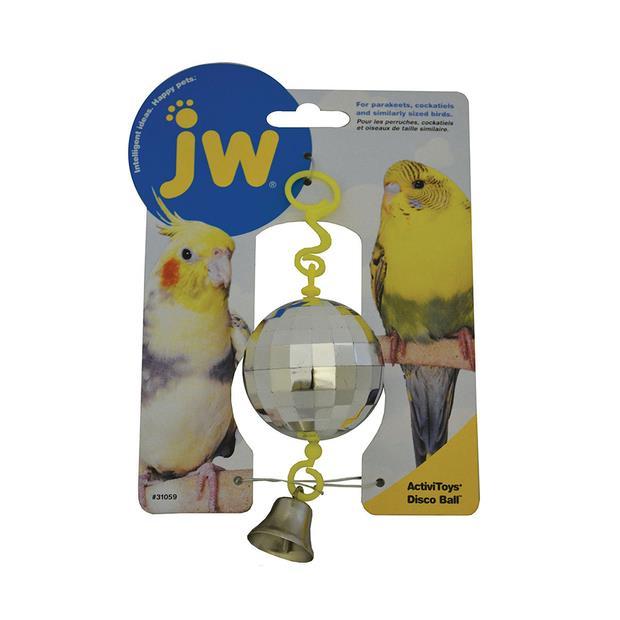 Jw Insight Disco Ball Each Pet: Bird Category: Bird Supplies  Size: 0kg  Rich Description: Suitable for...