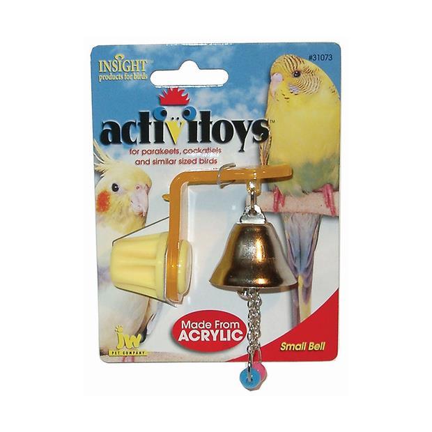 Jw Insight Hanger With Bell Each Pet: Bird Category: Bird Supplies  Size: 0.1kg  Rich Description:...