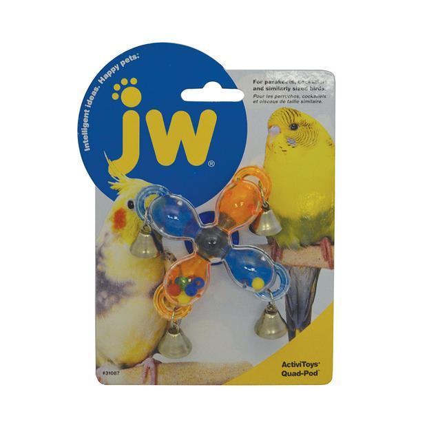 Jw Insight Quad Pod Each Pet: Bird Category: Bird Supplies  Size: 0kg  Rich Description: Suitable for...