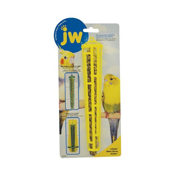 Jw Insight Holder Millet Spray 21cm Pet: Bird Category: Bird Supplies  Size: 0.3kg  Rich Description:...