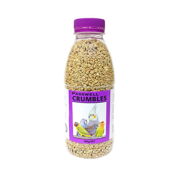 Passwell Bird Crumbles 300g Pet: Bird Category: Bird Supplies  Size: 0.3kg  Rich Description:...