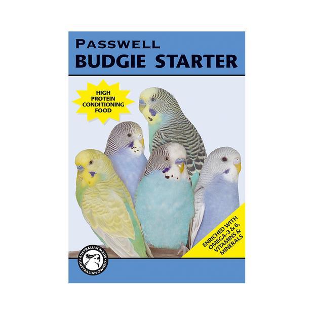 Passwell Budgie Starter 500g Pet: Bird Category: Bird Supplies  Size: 0.5kg  Rich Description:...
