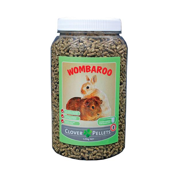 Wombaroo Clover Pellets 1.25kg Pet: Small Pet Category: Small Animal Supplies  Size: 1.2kg  Rich...
