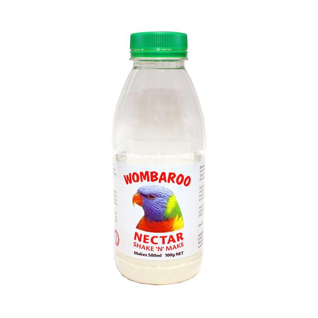 Wombaroo Nectar Shake 100g Pet: Bird Category: Bird Supplies  Size: 0.1kg  Rich Description:...