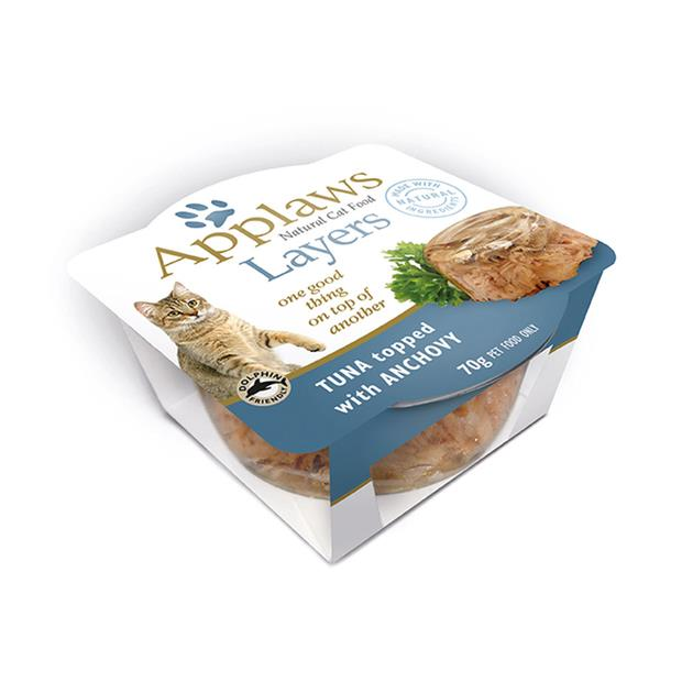 Applaws Wet Cat Food Tuna With Anchovy Layers 10 X 70g Pet: Cat Category: Cat Supplies  Size: 1.2kg...