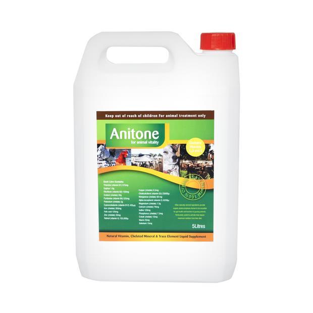 Anitone Natural Liquid Supplement 5L Pet: Horse Size: 5.1kg  Rich Description: Suitable for horses...