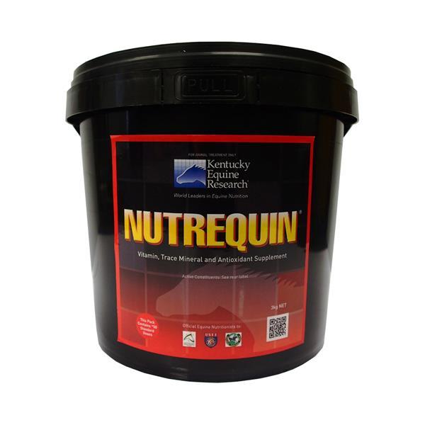 Ker Equivit Nutrequin 3kg Pet: Horse Size: 3.2kg  Rich Description: Suitable for Horses on homemixed...