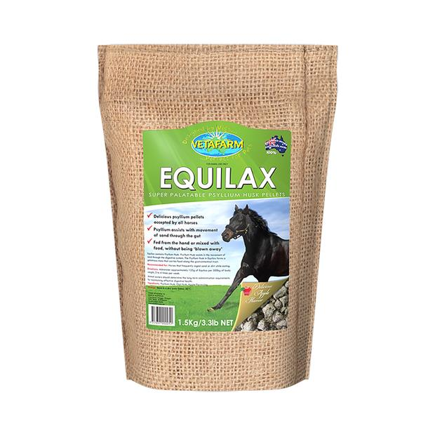 Vetafarm Equilax 1.5kg Pet: Horse Size: 1.5kg  Rich Description: Recommended for Horse that frequently...