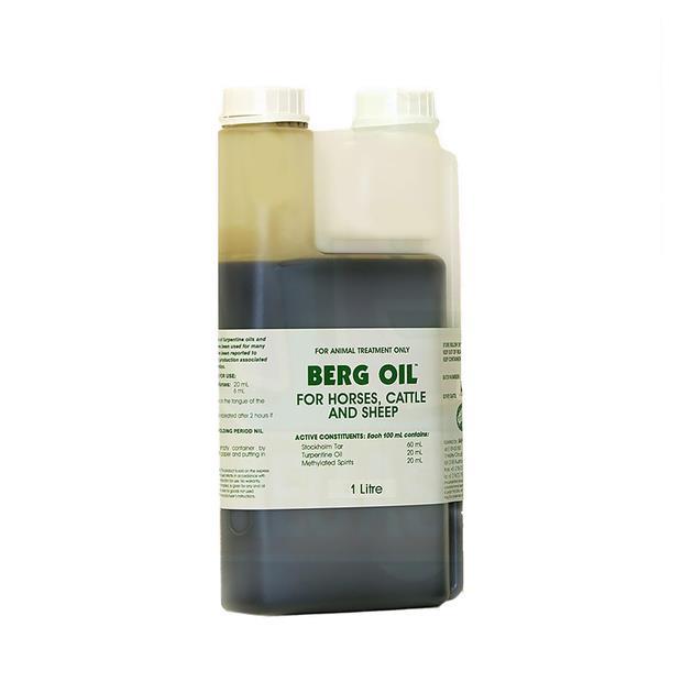 Iah Berg Oil 1L Pet: Horse Size: 1.1kg  Rich Description: Suitable for Horses with mild...