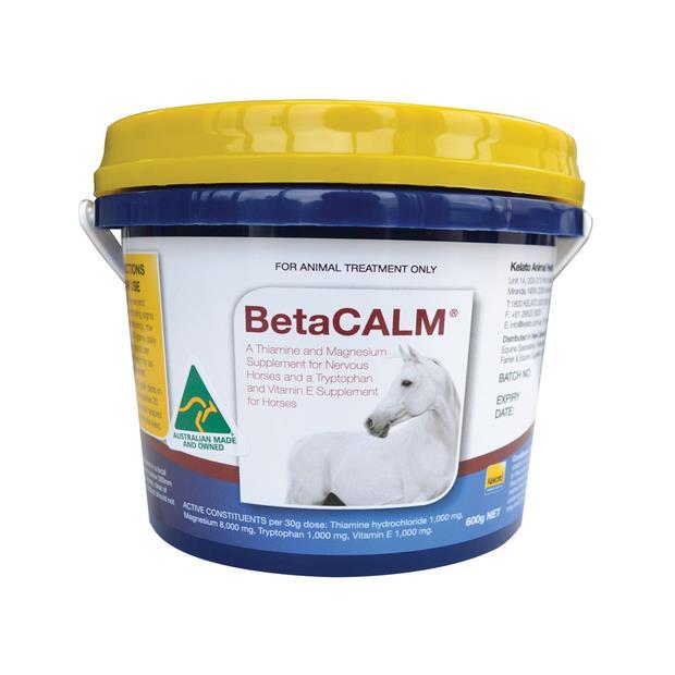Kelato Betacalm Calming Supplement 2kg Pet: Horse Size: 2.1kg  Rich Description: Suitable for nervous...