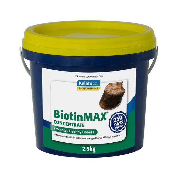 Kelato Biotinmax Concentrate 2.5kg Pet: Horse Size: 2.6kg  Rich Description: Suitable for horses with...