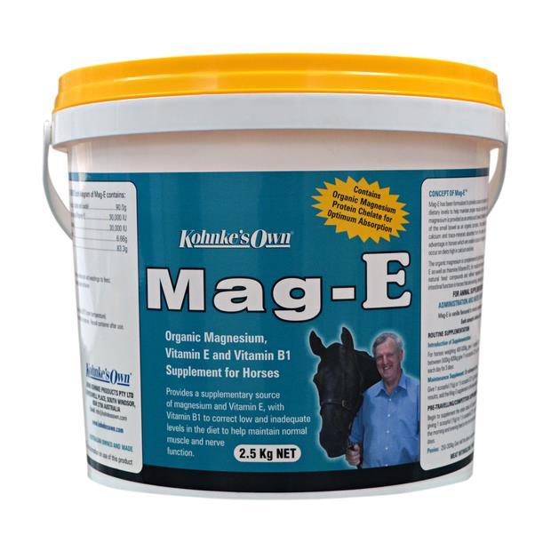 Kohnkes Own Mag E 1kg Pet: Horse Size: 1.2kg  Rich Description: Suitable for working travelling and...