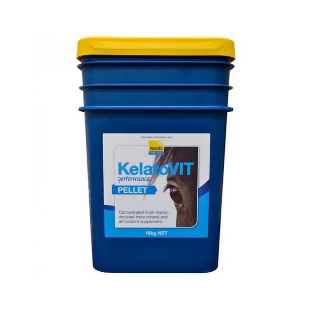 Kelato Vit Performance Pellets 16kg Pet: Horse Size: 16.2kg  Rich Description: Suitable for horses and...