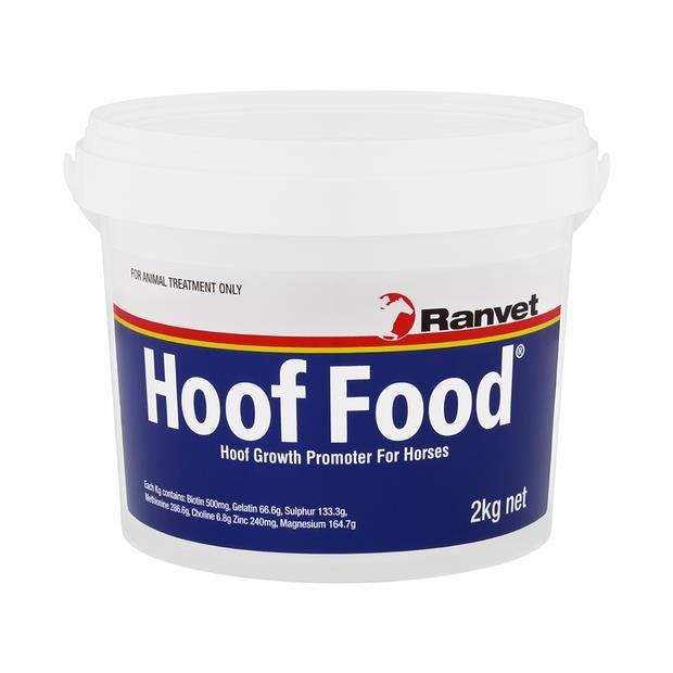Ranvet Hoof Food 2kg Pet: Horse Size: 2.1kg  Rich Description: Suitable for horses with weak hooves or...
