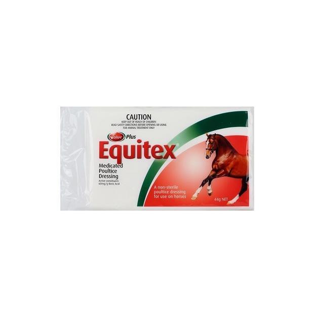 Value Plus Equitex Medicated Poultice Dressing 200g Pet: Horse Size: 0.3kg  Rich Description: Suitable...