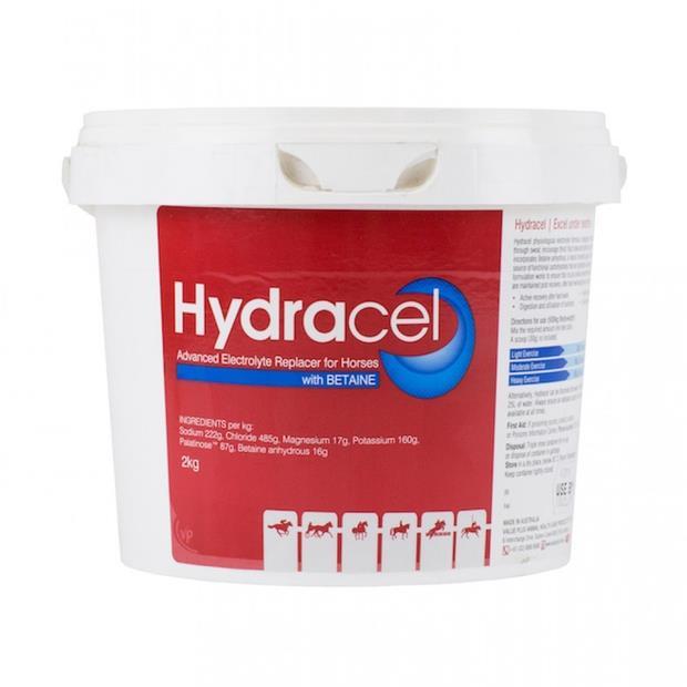 Value Plus Hydracel Electrolyte 2kg Pet: Horse Size: 2.1kg  Rich Description: Suitable for horses...