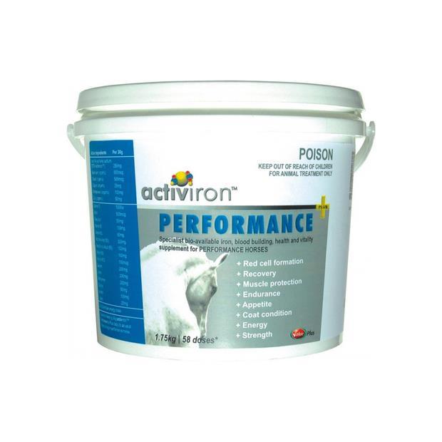 Value Plus Activiron Performance Plus Powder 1.75kg Pet: Horse Size: 2kg  Rich Description: Suitable...