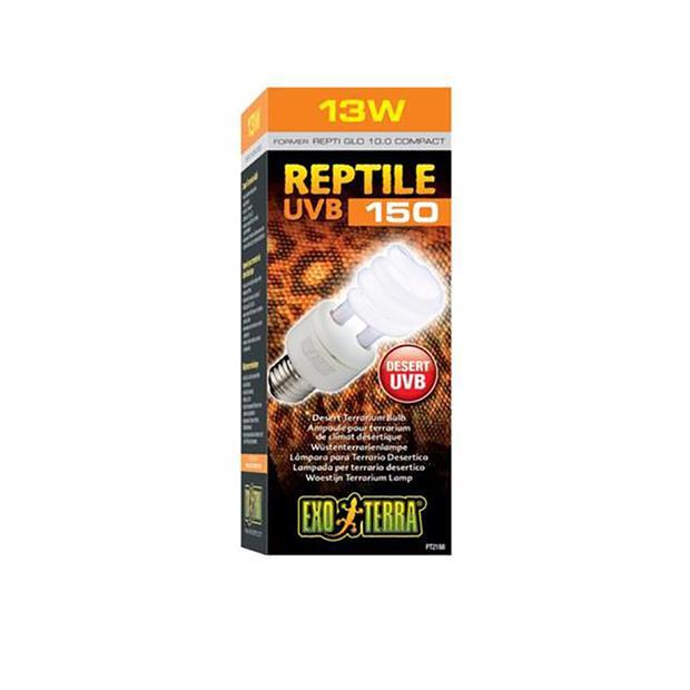 Exo Terra Reptile Uvb150 Desert Bulb 13w Pet: Reptile Category: Reptile & Amphibian Supplies  Size:...