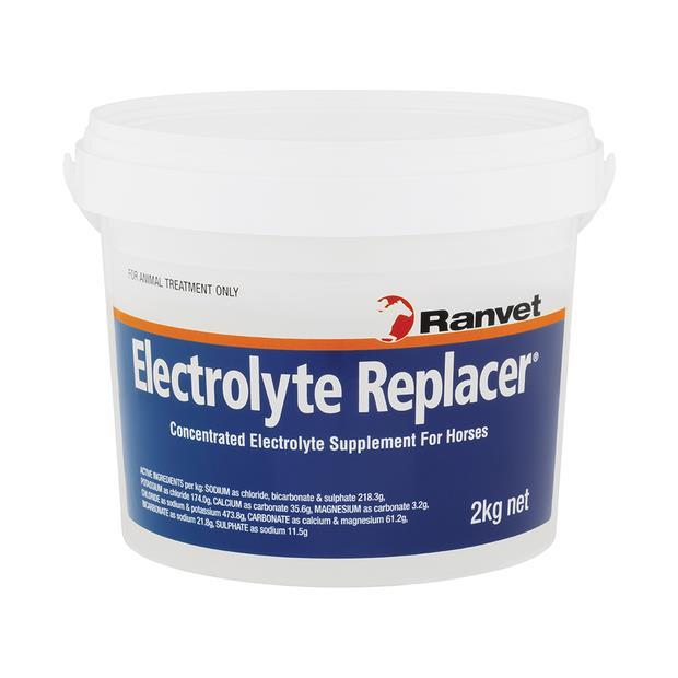 Ranvet Electrolyte Replacer 2kg Pet: Horse Size: 2.1kg  Rich Description: Suitable for horses requiring...