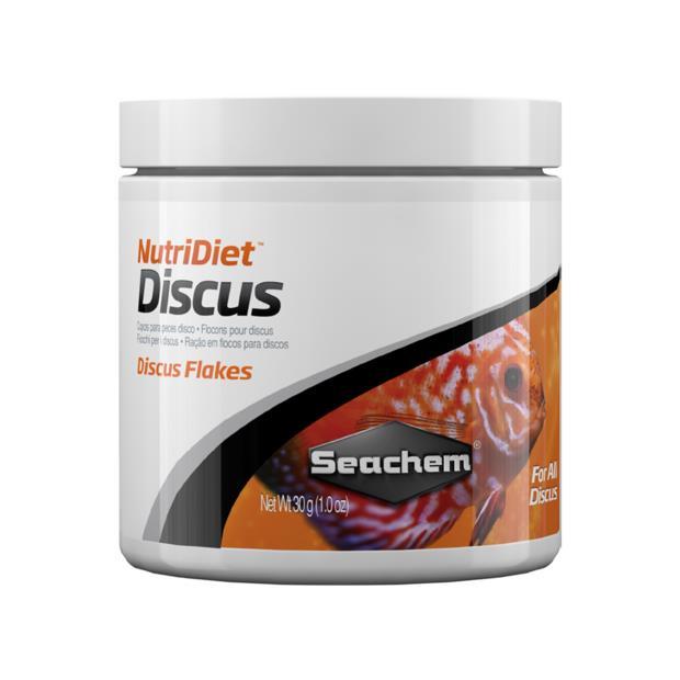 Seachem Nutridiet Discus Flakes 30g Pet: Fish Category: Fish Supplies  Size: 0.1kg  Rich Description:...