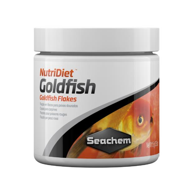 Seachem Nutridiet Goldfish Flakes 30g Pet: Fish Category: Fish Supplies  Size: 0.1kg  Rich Description:...