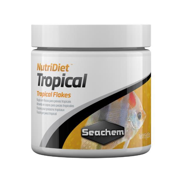 Seachem Nutridiet Tropical Flakes 100g Pet: Fish Category: Fish Supplies  Size: 0.4kg  Rich...