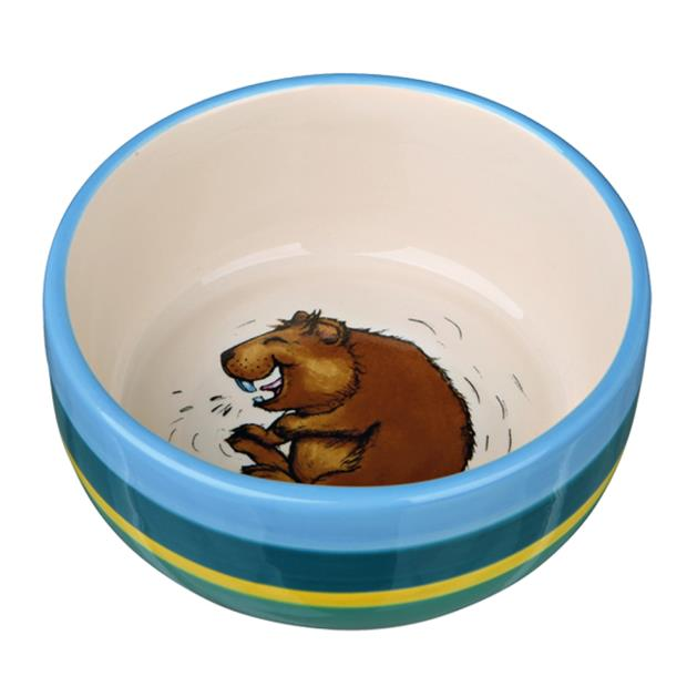 Trixie Ceramic Bowl Guinea Pigs 250ml Pet: Small Pet Category: Small Animal Supplies  Size: 0.2kg...