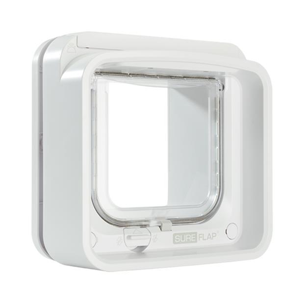 Sureflap Connect Microchip Cat Door Each Pet: Cat Category: Cat Supplies  Size: 1.7kg Colour: White...