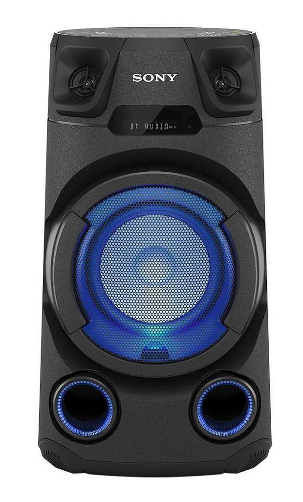 Sony Music Center app DJ & KARAOKE Mode Bluetooth technology High-efficiency Tweeters Multi-coloured...