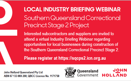 LOCAL INDUSTRY BRIEFING WEBINAR  