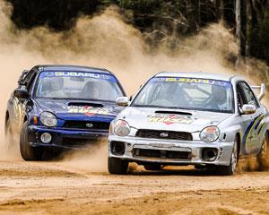 Feel the thrill of getting behind the wheel of a Turbo WRX Rally Car with 8 laps where you drive around...