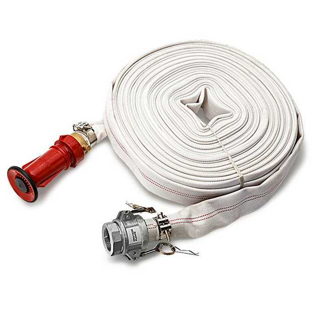 The Protege 36m Canvas Fire Fighting Water Hose is a piece of fire safety equipment you can depend on.