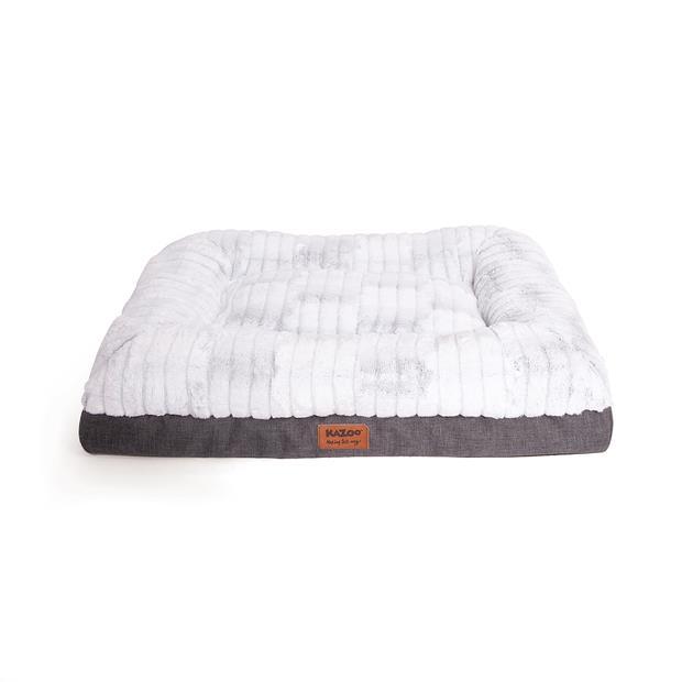 Kazoo Dog Cushion Cloud Comfort Medium Pet: Dog Category: Dog Supplies  Size: 15.1kg Colour: White...
