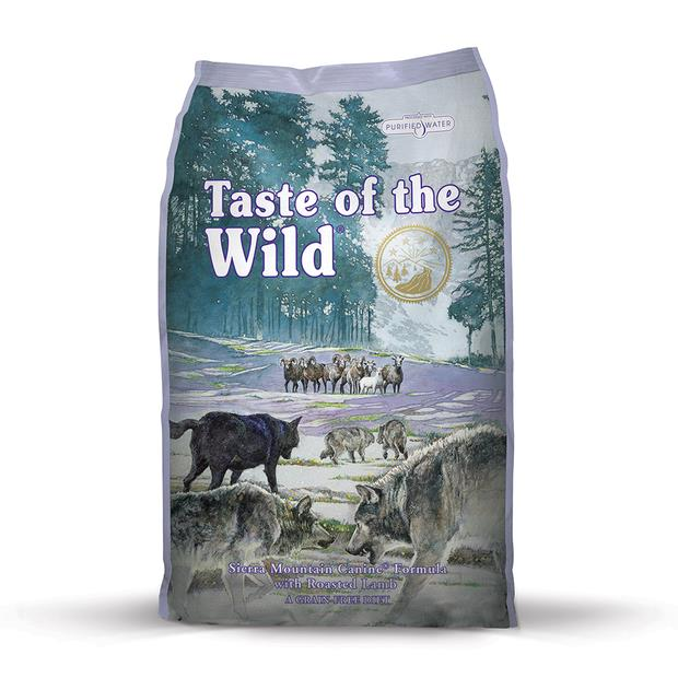 Taste Of The Wild Sierra Mountain Roasted Lamb 12.2kg Pet: Dog Category: Dog Supplies  Size: 13kg  Rich...