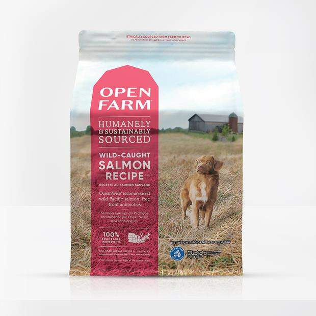 Open Farm Grain Free Wild Caught Salmon Dry Dog Food 10.9kg Pet: Dog Category: Dog Supplies  Size:...