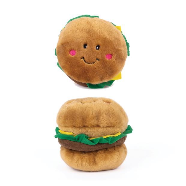 Zippypaws Nomnomz Hamburger Each Pet: Dog Category: Dog Supplies  Size: 0.1kg Colour: Brown  Rich...
