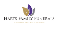 HARTS FAMILY FUNERALS   Harts Family Funerals provides compassionate, practical and professional...
