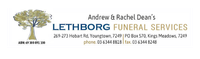 LETHBORG FUNERAL SERVICES   Lethborg Funeral Services situated in Launceston, Longford and Deloraine...