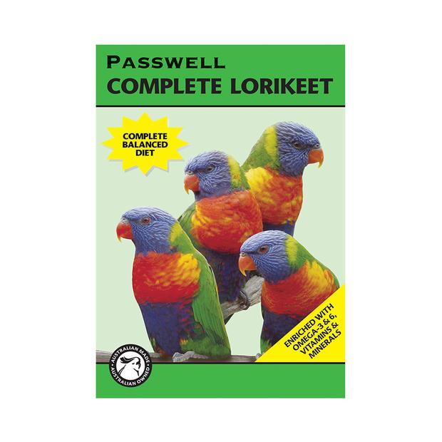 Passwell Complete Lorikeet 1kg Pet: Bird Category: Bird Supplies  Size: 1kg  Rich Description:...