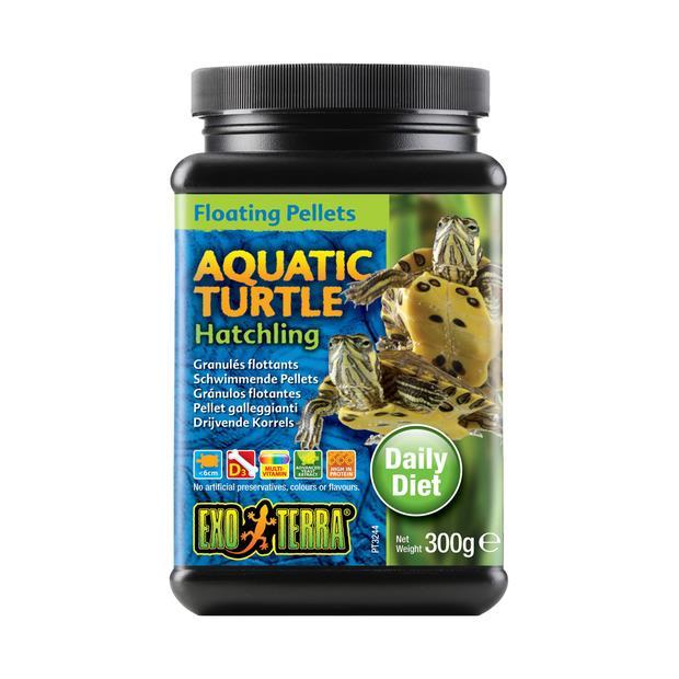 Exo Terra Aquatic Turtle Food Hatchling Floating Pellets 300gm Pet: Reptile Category: Reptile &...