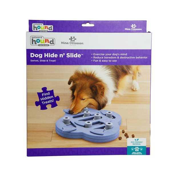 Nina Ottosson Hide N Slide Treat Dispensing Interactive Dog Game Level 2