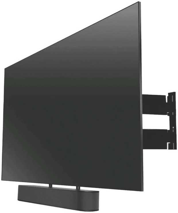 SOUND 3550 Soundbar Mount is easily customisable for multiple sizes and sound bar shapes such as Sonos...