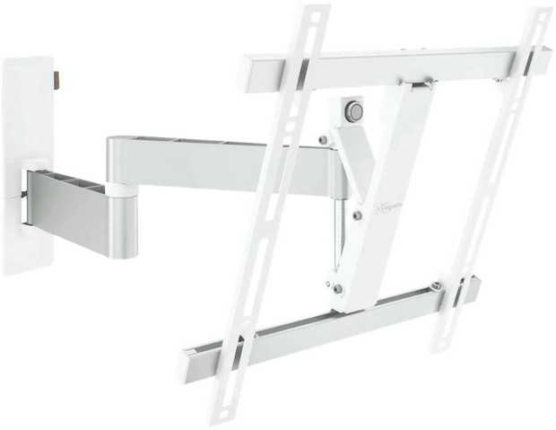 "Full Motion TV Wall Bracket Med (32-55"") White"