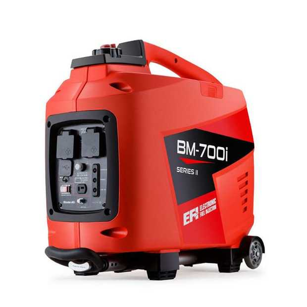 The Baumr-AG BM-700i Inverter Generator has been designed with one thing in mind - convenience in the...