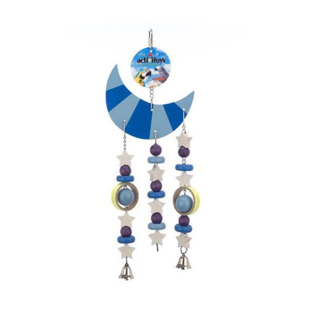 Jw Insight Moon Triple Toy Each Pet: Bird Category: Bird Supplies  Size: 0.5kg  Rich Description:...