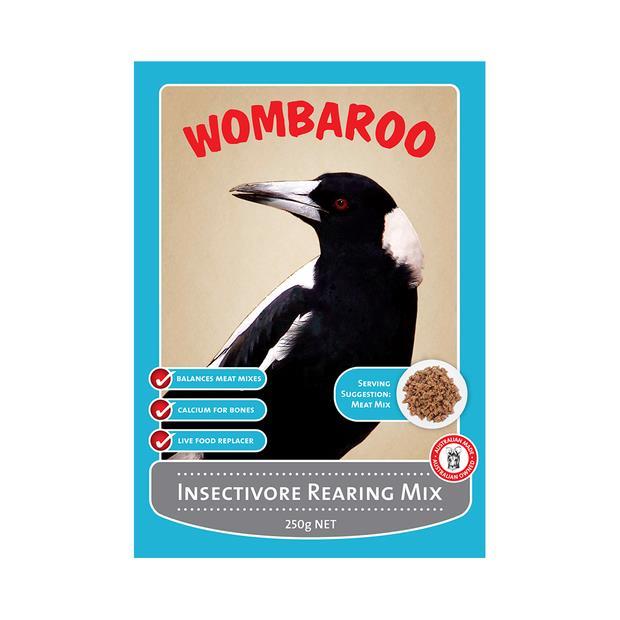 Wombaroo Insectivore Rearing Mix 250g Pet: Bird Category: Bird Supplies  Size: 0.2kg  Rich Description:...