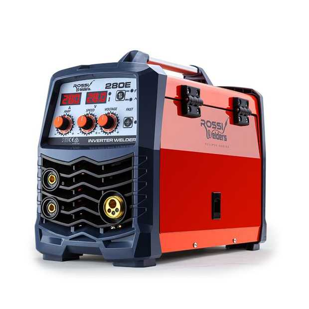 For your next welding project, get the job done right with the NEW Rossi Eclipse Series 280E Gas &...