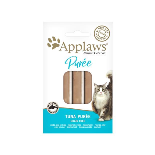Applaws Cat Treats Puree Tuna 8x7g Pet: Cat Category: Cat Supplies  Size: 0.7kg  Rich Description:...