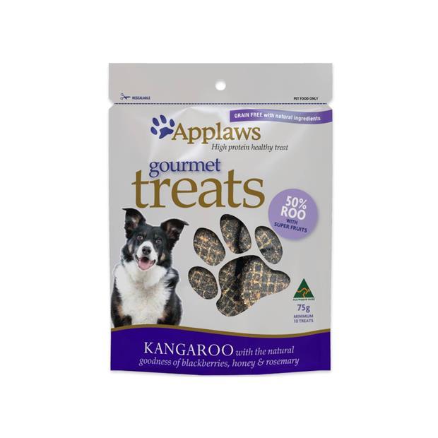 Applaws Dog Treats Gourmet Kangaroo Blackberries And Honey 75g Pet: Dog Category: Dog Supplies  Size:...