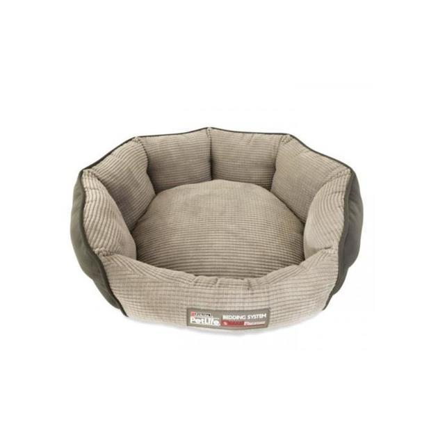 Petlife Cuddle Bed Grey Smallmedium Pet: Dog Category: Dog Supplies  Size: 0.1kg Colour: Grey Material:...